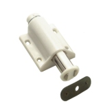 Single Magnetic Touch Latch 507 White