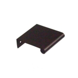 "Aluminum Edge Pull, 1.5"" Oil Rubbed Bronze Anodized"