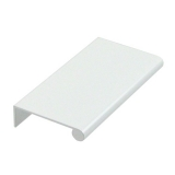 "Aluminum Edge Pull, 3"" Gloss White"
