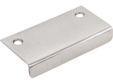 "Rounded 3"" Tab Pull, Brushed Satin Nickel"
